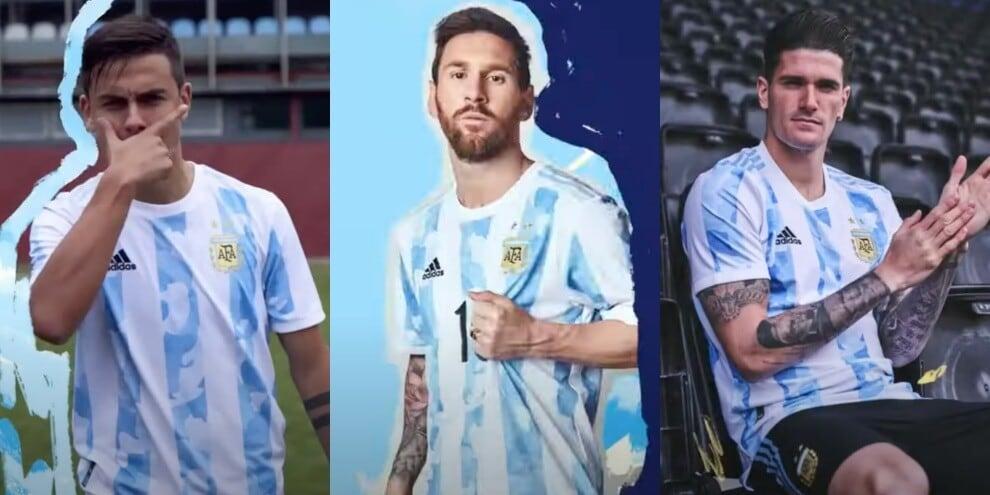 Nuova maglia Argentina: Dybala tra i testimonial