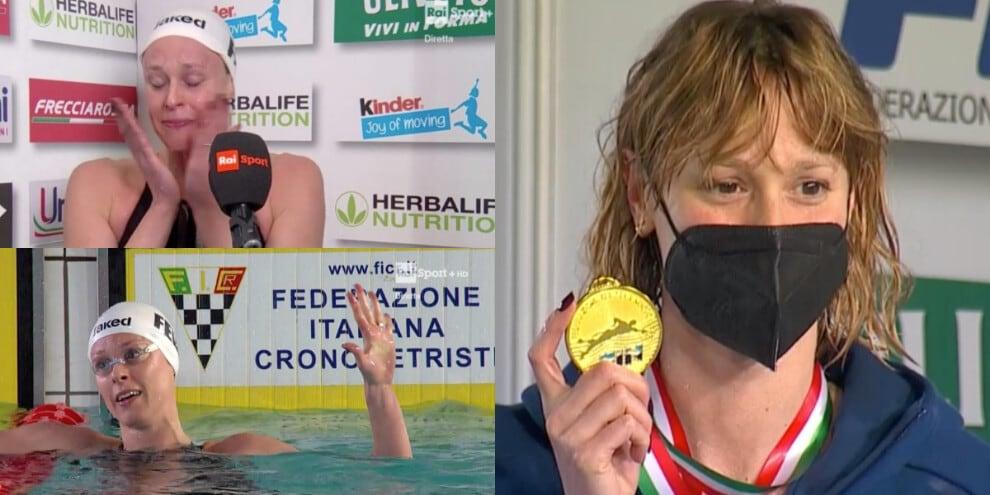 Federica Pellegrini, le lacrime per la quinta Olimpiade!