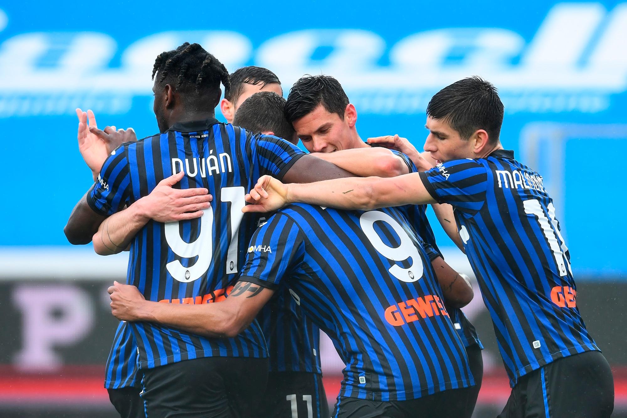 L'Atalanta abbraccia Muriel: doppietta nel 3-2 all'Udinese