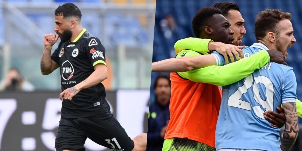 Lazio nervosa, ma vincente: Spezia battuto 2-1