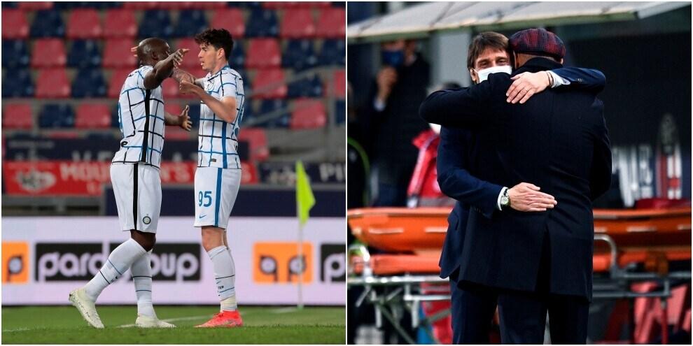 Inter, fuga scudetto: Lukaku mette ko il Bologna