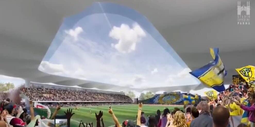 Il Parma toglie i veli dal nuovo Stadio Tardini
