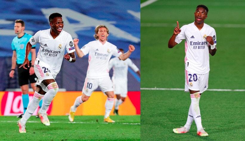Vinicius, che doppietta al Liverpool: il Real Madrid vince 3-1