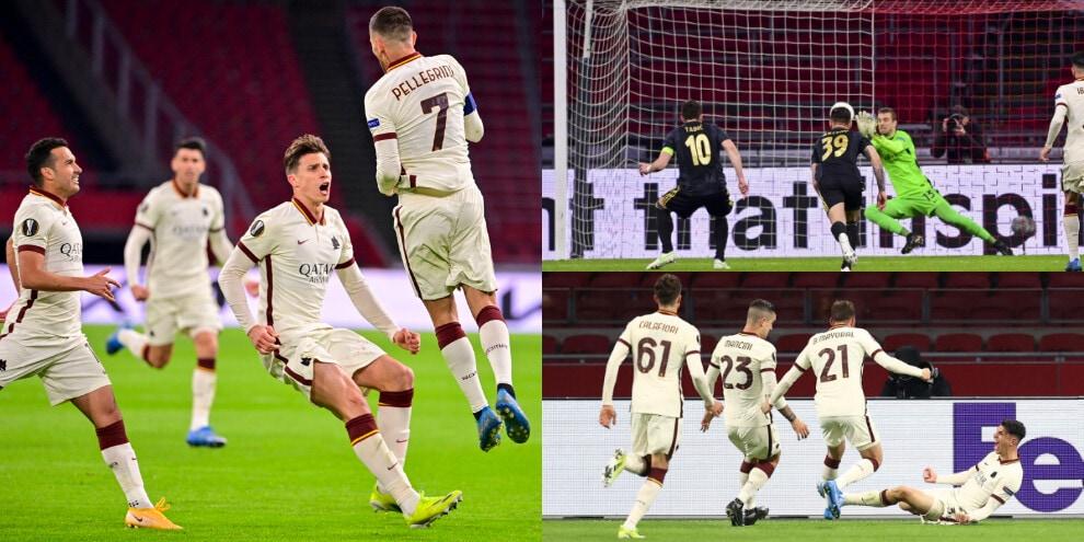 Pau Lopez super, Pellegrini e Ibanez guidano la Roma. Ajax battuto