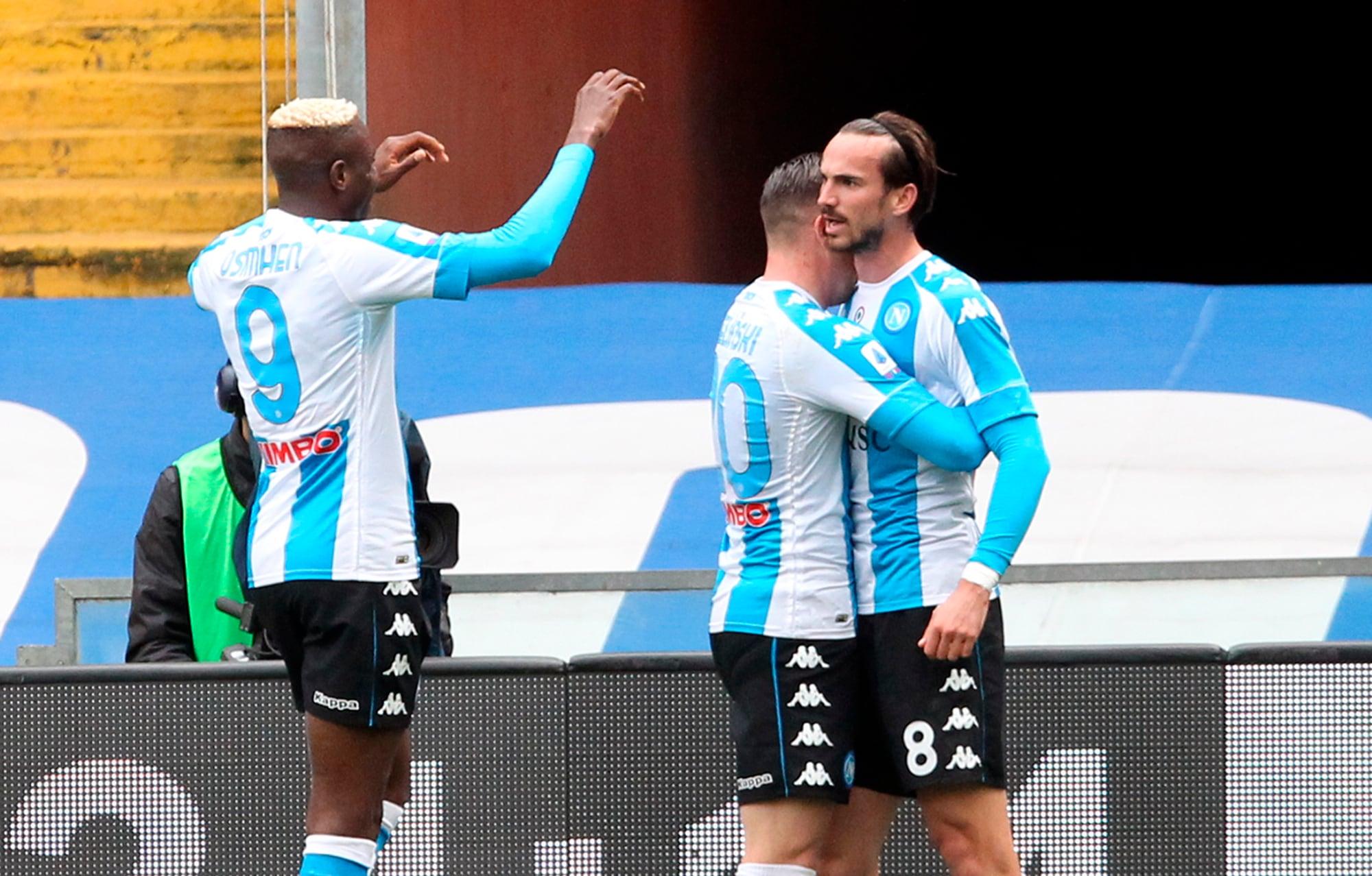 Fabian Ruiz-Osimhen, il Napoli torna a vincere: Sampdoria ko