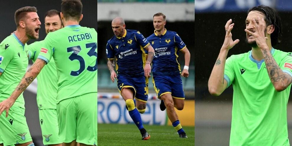 Lazio vincente grazie a Milinkovic: il Verona battuto per 1-0