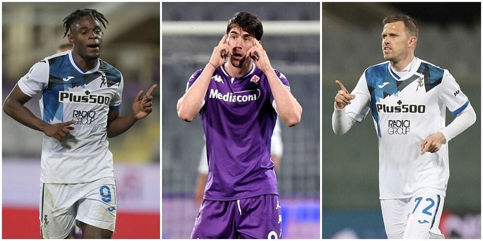 Zapata e Ilicic stendono la Fiorentina: è un'Atalanta da Champions