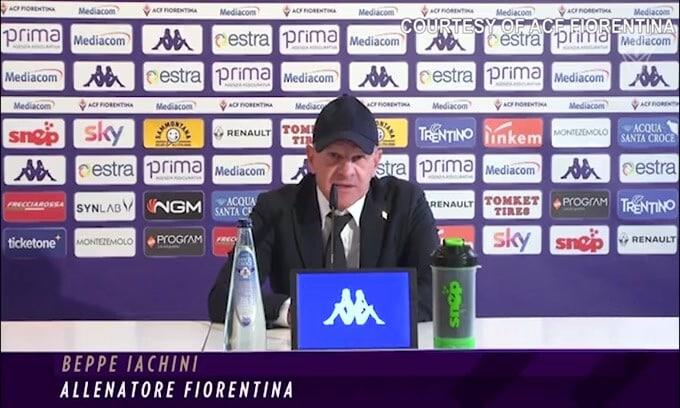 """Fiorentina, Iachini: """"Nessuno ha la bacchetta magica"""""""