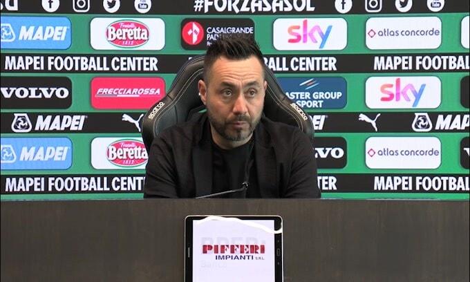 """De Zerbi: """"L'ottavo posto forse è il massimo.."""""""