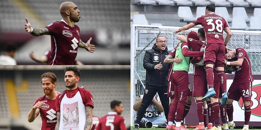 Gol dell'ex Sanabria, Zaza e Rincon: Torino show con la Roma