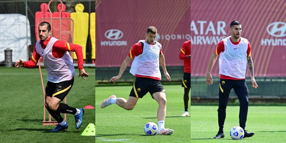 La Roma punta l'Atalanta: Dzeko e Mkhitaryan scalpitano