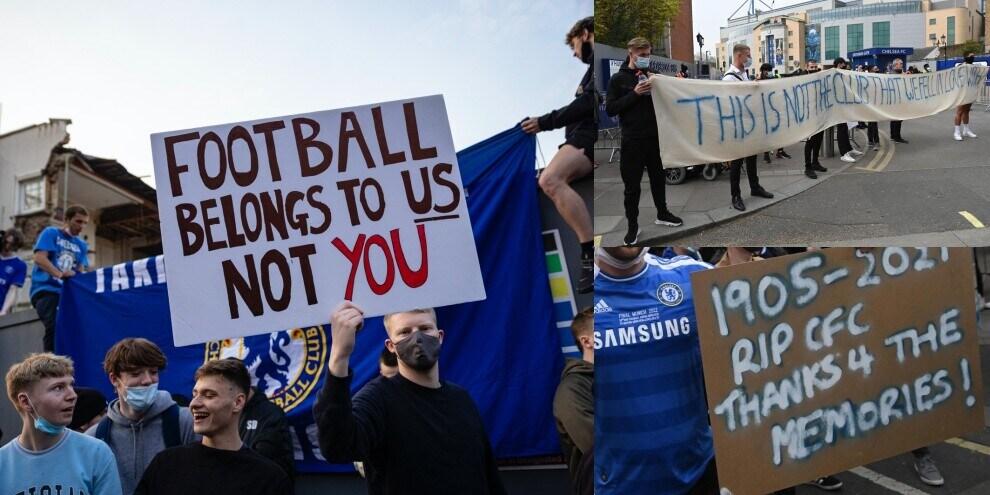 """Chelsea, protesta dei tifosi: """"Non è il club che amiamo"""""""