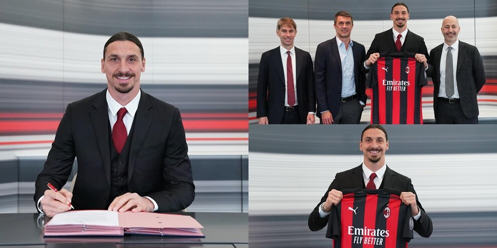 Ibrahimovic, ufficiale il rinnovo: al Milan scatta lo Z-Day