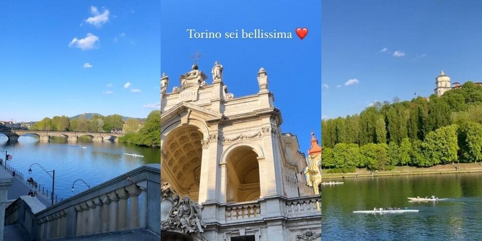 "Juve, lady Chiesa innamorata: ""Torino è bellissima"""