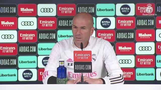 """Zidane: """"Giocare la Champions è un nostro diritto"""""""