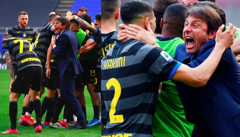 L'Inter vince con il Verona: Conte scatenato