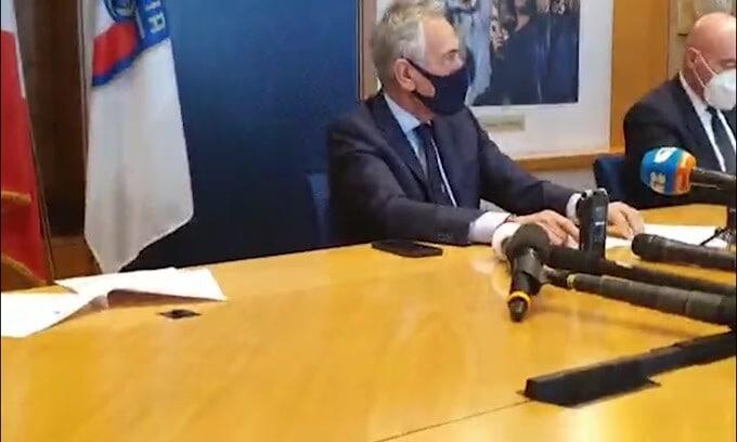"""Gravina: """"Chi fa parte della Superlega viene escluso dai nostri campionati"""""""