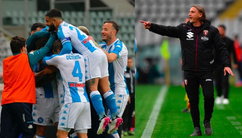Torino ko, vince il Napoli con i gol di Bakayoko e Osimhen