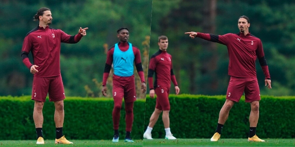 Milan, Ibrahimovic c'è: fa lui l'allenatore!