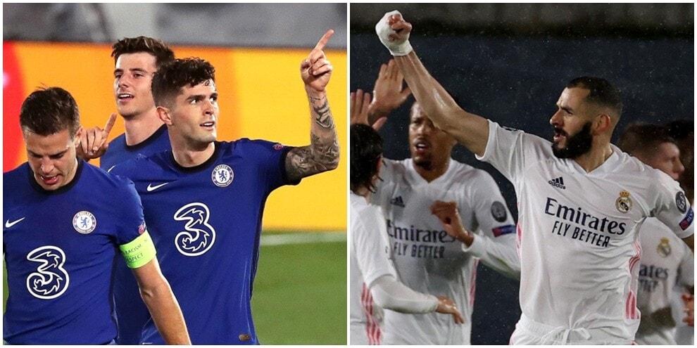 Pulisic illude il Chelsea, Benzema salva il Real: si va al secondo round
