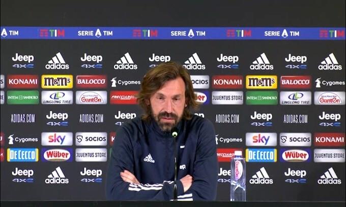 """Pirlo: """"Devo andare in Champions e vincere la Coppa Italia"""""""