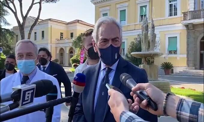 """Gravina: """"Grazie al Governo per un Europeo in sicurezza"""""""