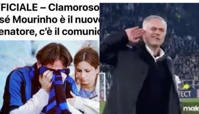 Mourinho alla Roma, i social impazziscono