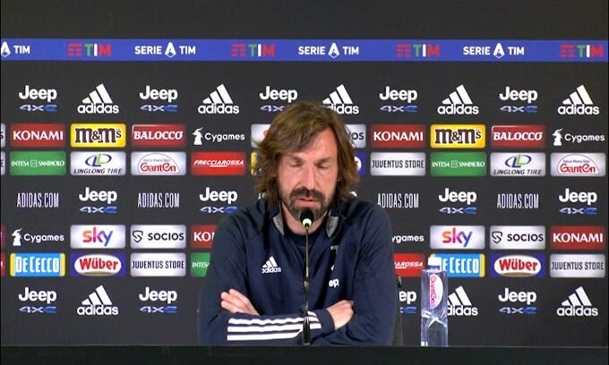 """Pirlo: """"Super League? Pensiamo alla Champions"""""""