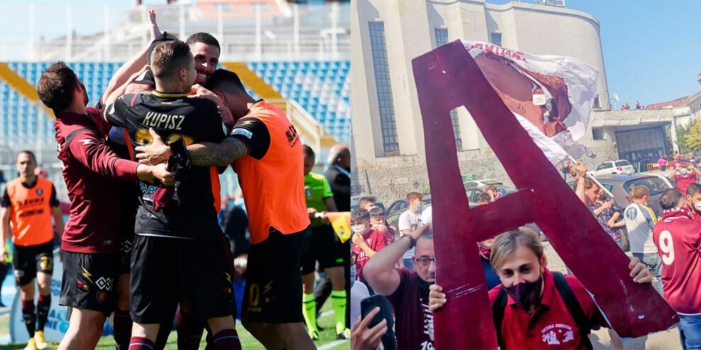 Salernitana, inizia la festa: in Serie A dopo 23 anni!