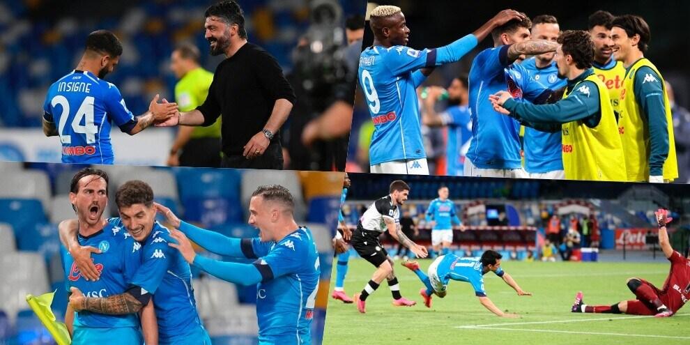 Napoli spettacolare: cinque gol all'Udinese per la Champions!