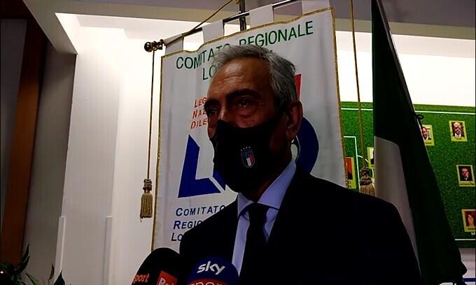 """Gravina: """"Buffon in Nazionale? Ne parlo con Mancini"""""""