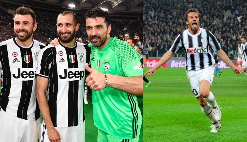 Buffon, la top 11 dei suoi 'fedelissimi' alla Juve