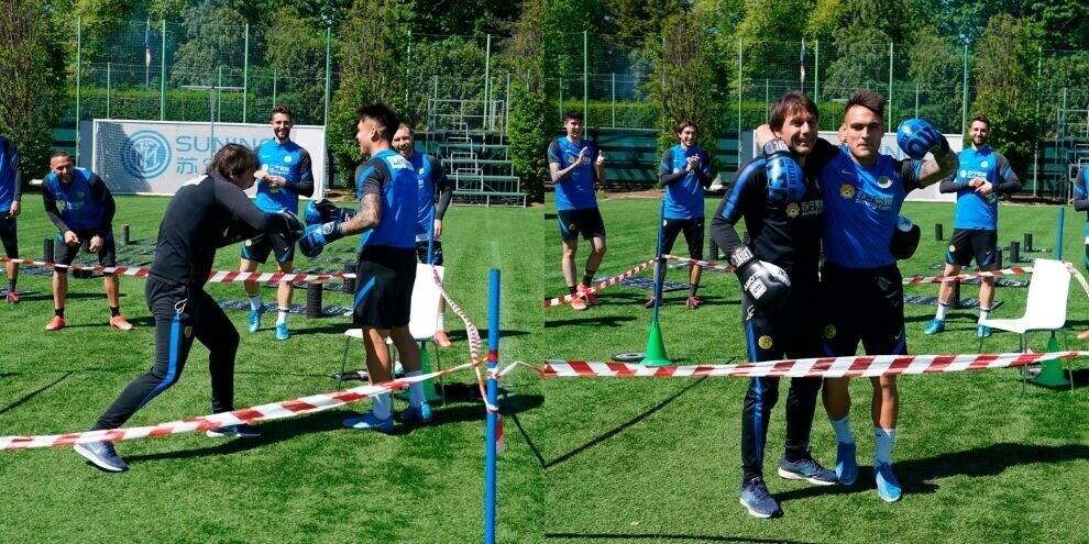 Inter, Lautaro contro Conte: match di boxe tutto da ridere!