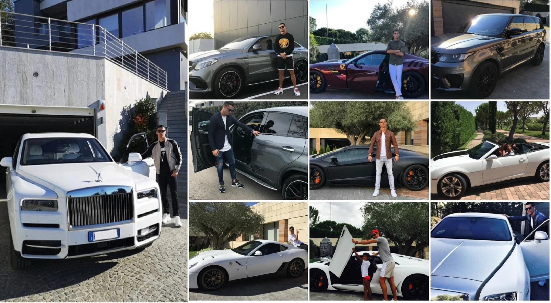 Cristiano Ronaldo lascia la Juve, dove raggiungerà le sue supercar?