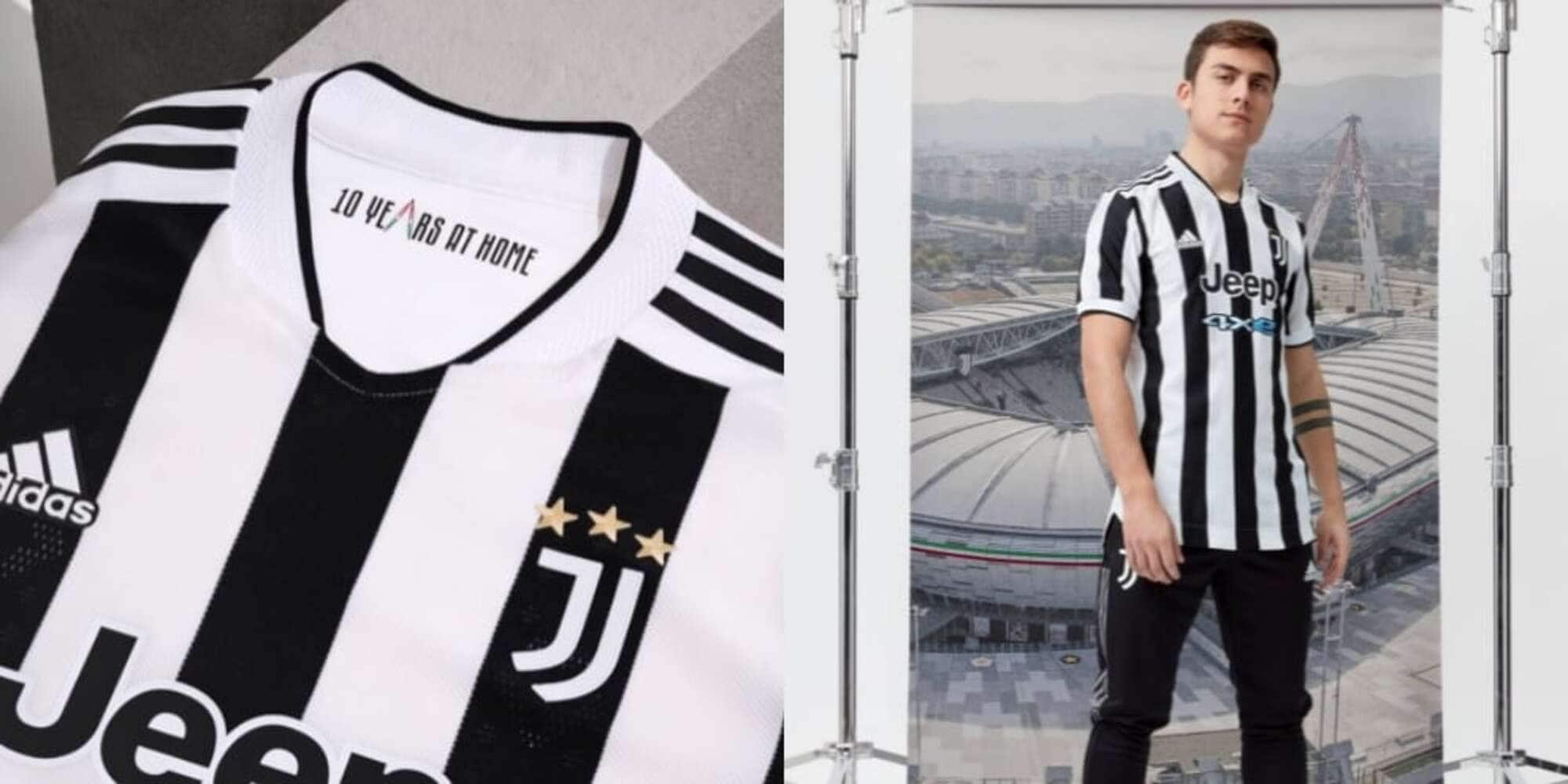Juve, presentata la maglia Home 2021/22