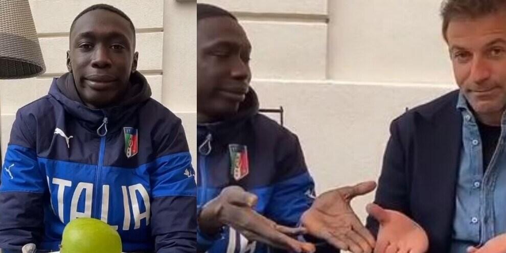 Del Piero e il re di Tik Tok: il divertente video è virale!