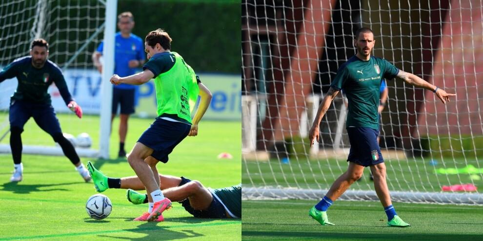 Euro 2020: Italia, Chiesa e Bonucci caricano gli Azzurri