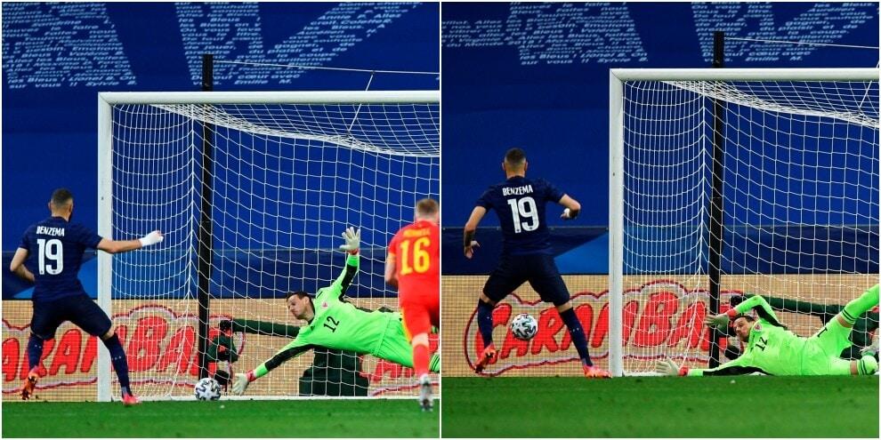 Francia, clamoroso Benzema: torna in nazionale e sbaglia il rigore