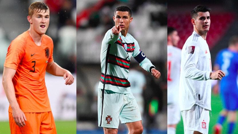 Juve, i 12 giocatori convocati all'Europeo