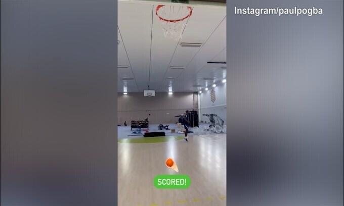 Basket, Pogba che colpi! Sembra Michael Jordan