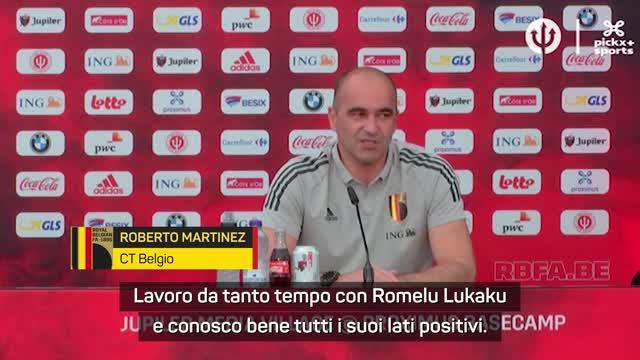 """Martinez esalta Lukaku: """"All'Inter è diventato un leader"""""""