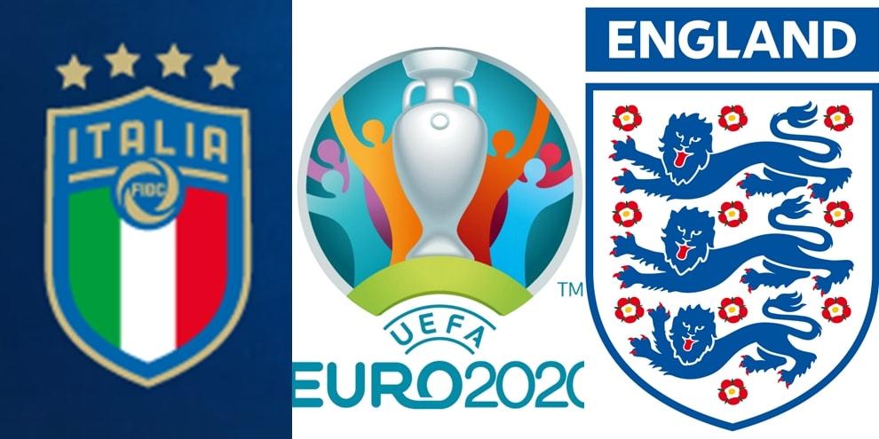 Gli stemmi delle squadre di Euro 2020
