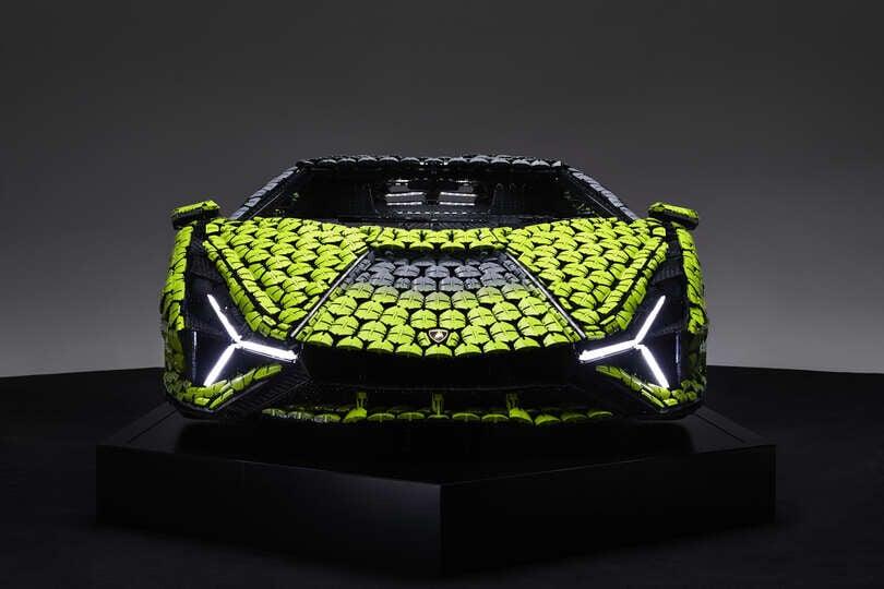 Lamborghini Sián, ibrida e aerodinamica anche in mattoncini LEGO