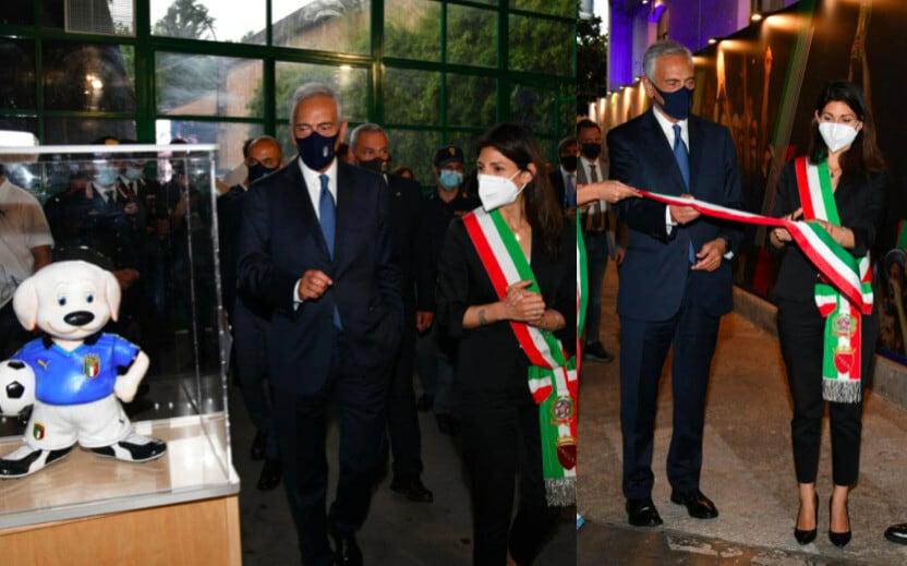 Italia, inaugurazione di Casa Azzurri: presenti Gravina e la Raggi