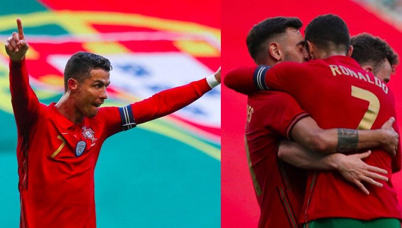 Ronaldo pronto per Euro2020: a segno in Portogallo-Israele