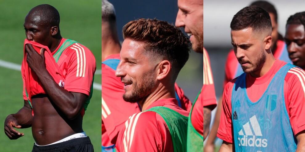 Lukaku, Mertens e Hazard: i campioni del Belgio pronti a Euro 2020