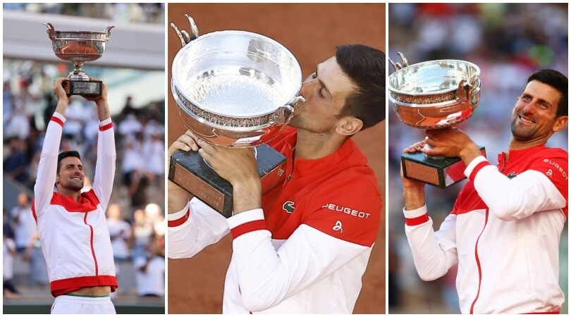 Festa Djokovic: trionfo al Roland Garros