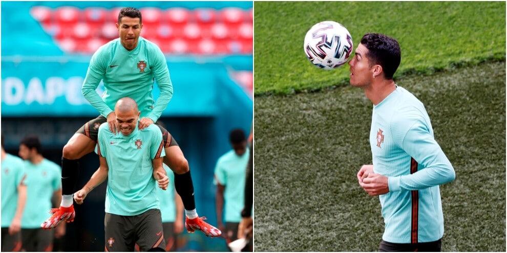 Ronaldo e Pepe, che coppia: veterani e trascinatori del Portogallo