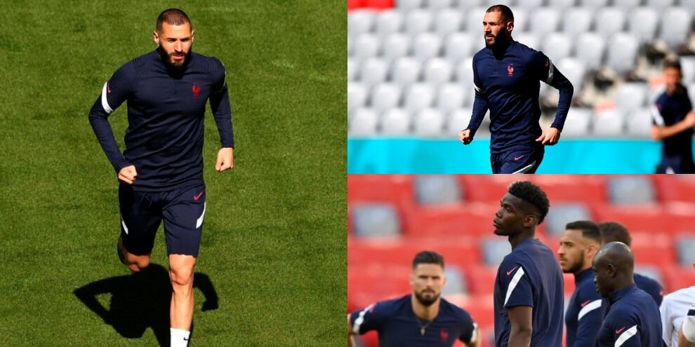 Francia, Benzema corre verso la Germania. Pogba pensieroso