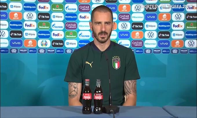 """Bonucci: """"L'Inghilterra mi ha impressionato"""""""